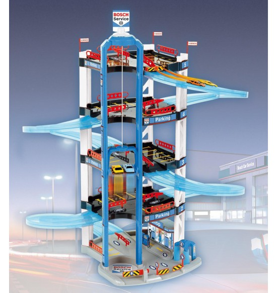 Bosch garáž - 5 poschodí