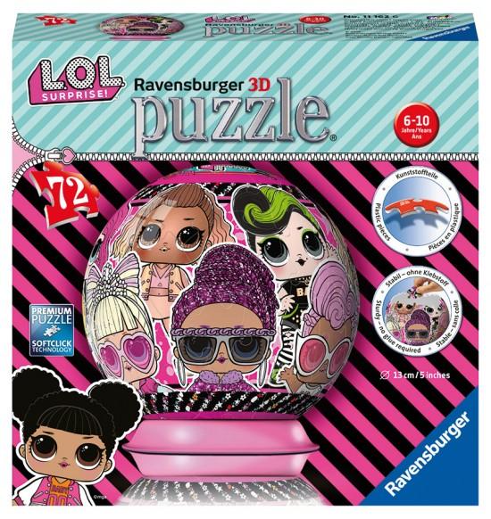 Puzzleball LOL 72 dielikov