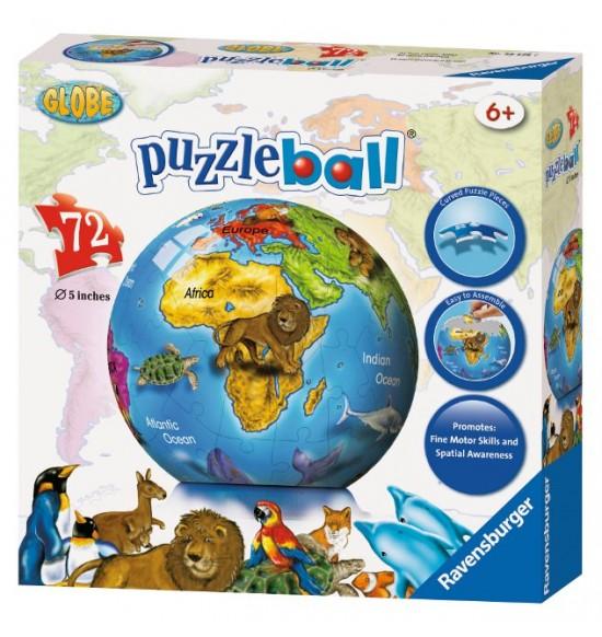 Glóbus Puzzleball 72d