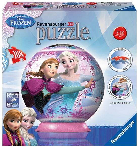 Disney L´adové kral´ovstvo puzzleball 108d