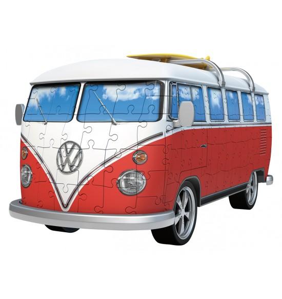 VW autobus 162 dielikov 3D