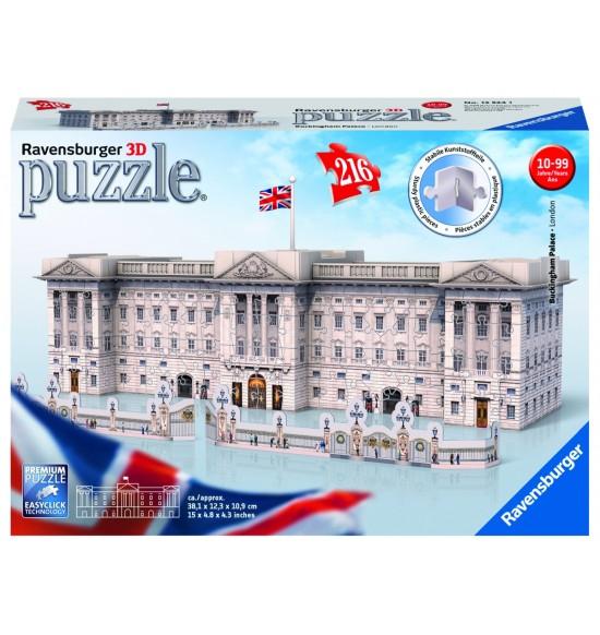 Buckinghamský palác 3D, 216 dielikov