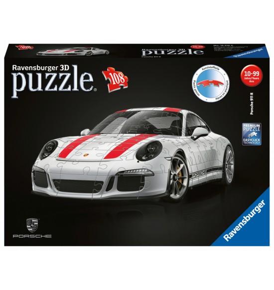Porsche 911R 3D, 108 dielikov