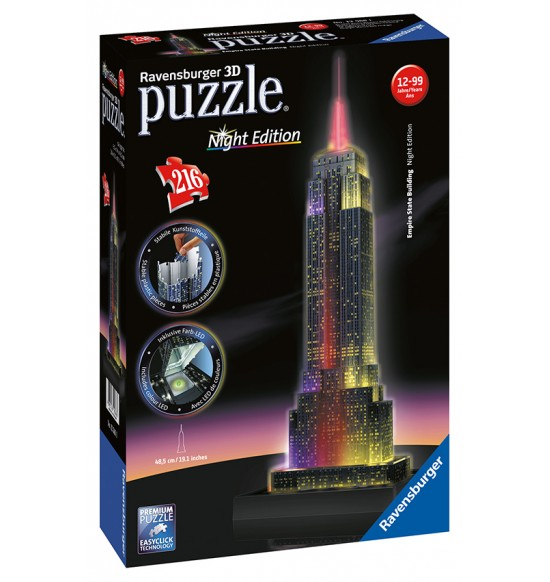 Empire State Building-svietiaci 3D 216d