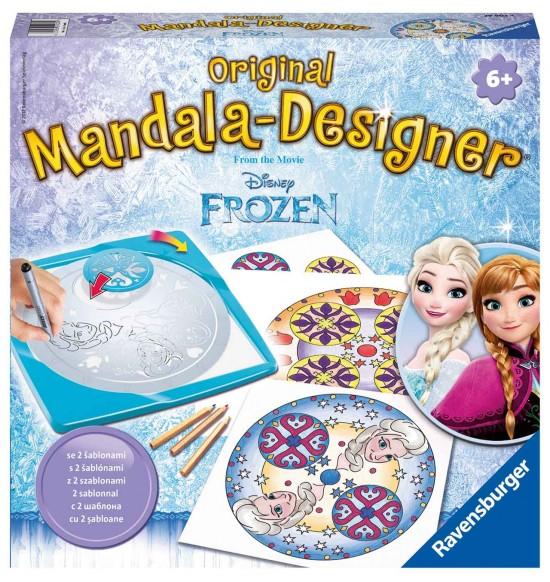 Disney Ľadové kráľovstvo strednej Mandala
