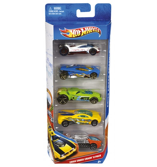 HW Autíčka Hot Wheels 5ks