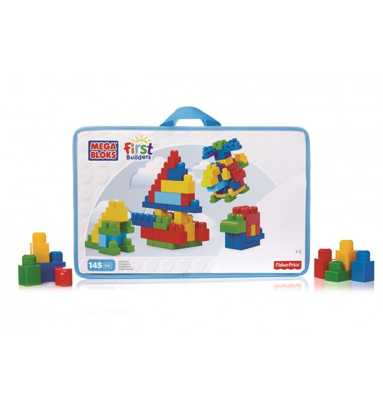 Mega Bloks FB DELUXE BUILDING BAG (145)