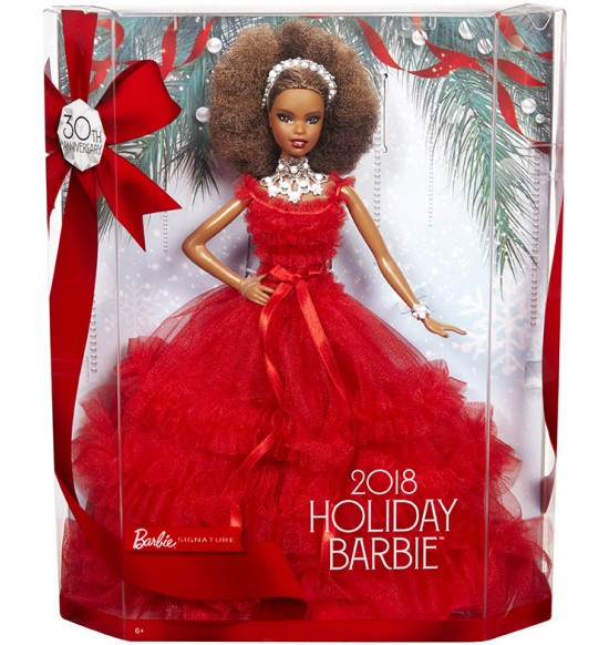 BRB HOLIDAY DOLL AFRO ÚČES