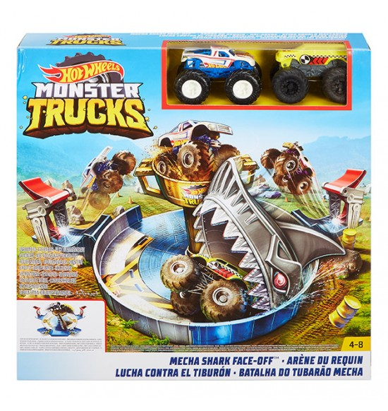 HW MONSTER TRUCKS ŽRALOČÍ ÚTOK