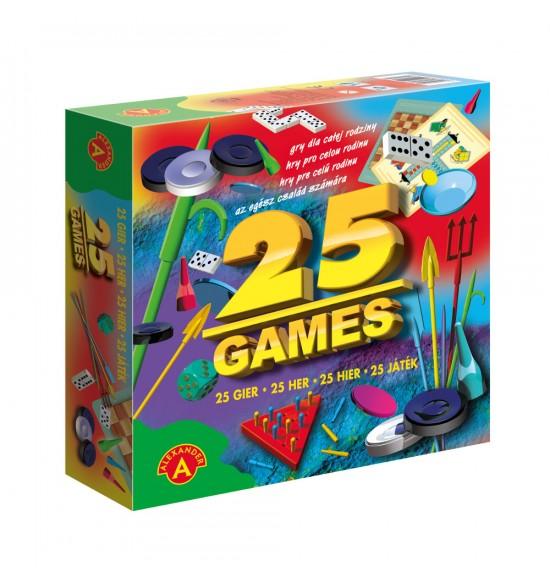Súprava - 25 najznámejších hier