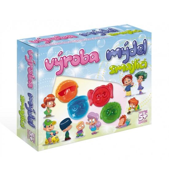 Výroba mydla - Smajlíci