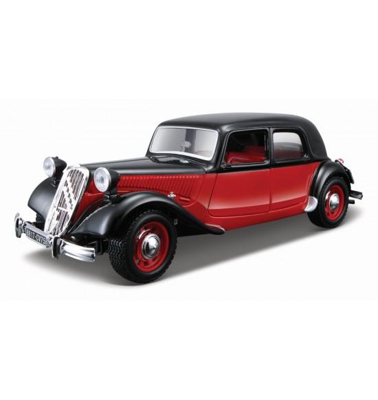 CITROEN 15CV TA (1938) 1:24 čierno-červený