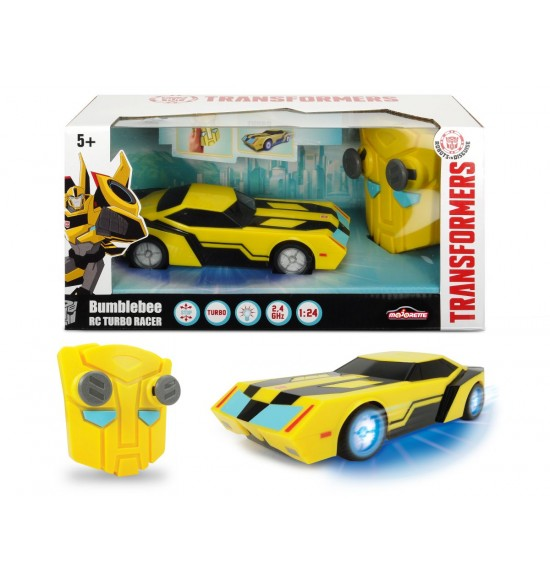 RC Transformers RC Turbo Racer Bumblebee 1:24, 18 cm, 2kan