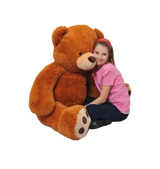 Medveď 135 cm čokoládový