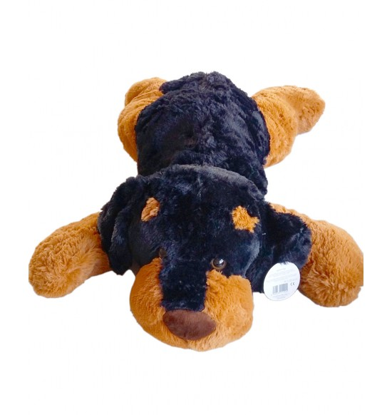 Plyšový psík tmavý 90 cm