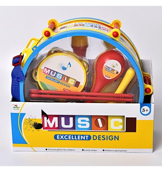 Bubon s nástrojmi