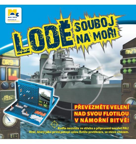 Lode, súboj na mori