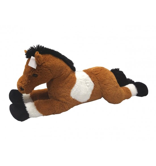 Kôň bielo/hnedý 80 cm