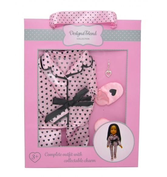 Pyžamo pre bábiky design