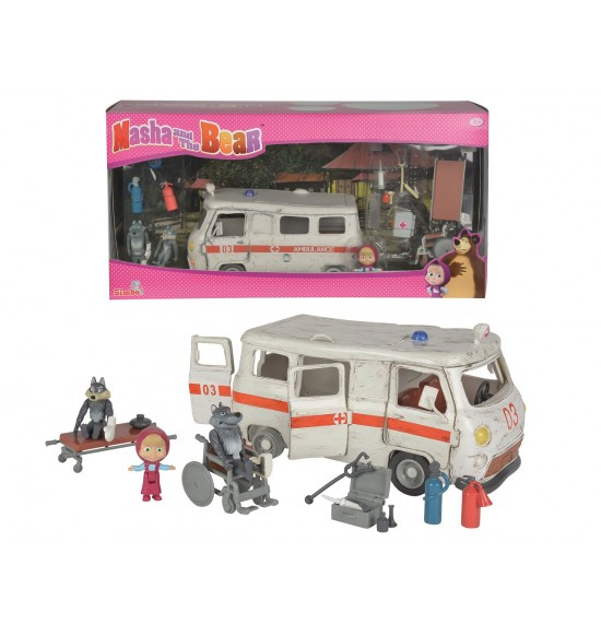 Masha and the Bear Ambulance hraci set