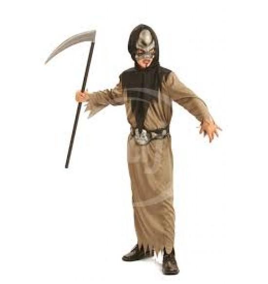 Karnevalový kostým Smrtka - S