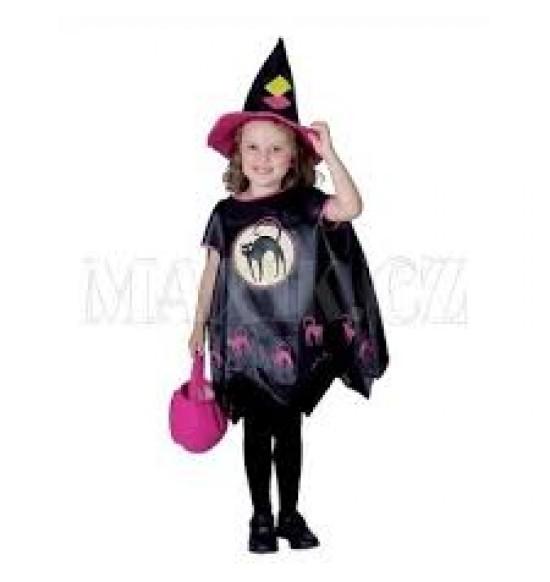 Karnevalový kostým Čarodejnica 92-104 cm