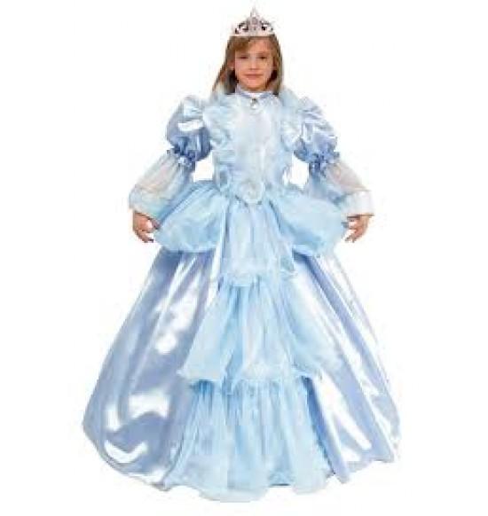 Karnevalový kostým Princezná modrá S