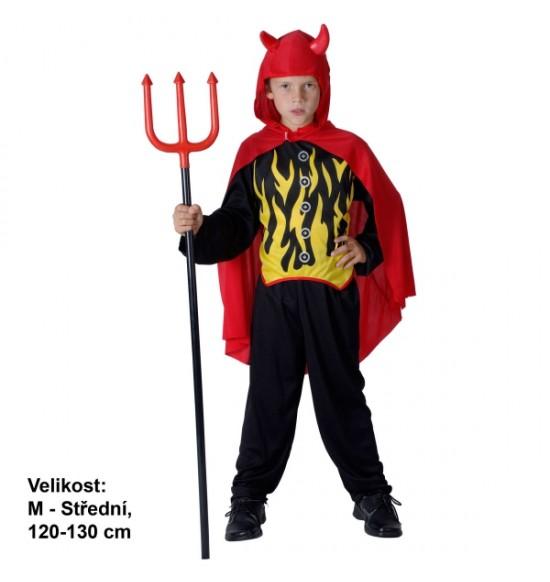 Karnevalový kostým detský- Čert, M