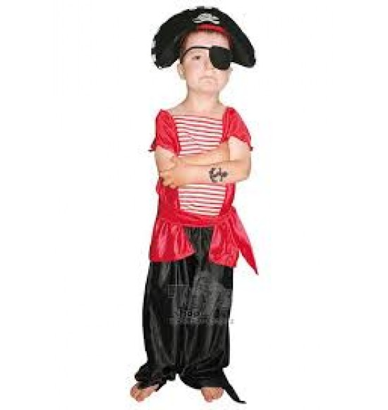 Pirát-Karnevalový kostým L 8-10 rokov